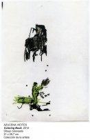 Azucena Vieites. De la serie Coloring Book, 2013
