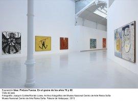 Idea: Pintura Fuerza, vista de sala / gallery view (imagen 3)