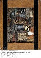 Wladyslaw Strzeminski.Cubismo: tensiones de la estructura materiall.1919-21