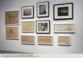 Las biografías de Amos Gitai, vista de sala / gallery view (imagen 1)