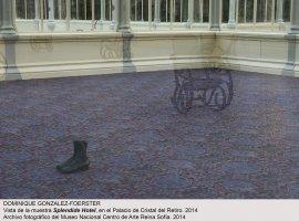 Vista de sala / gallery view Dominique Gonzalez-Foerster. SPLENDIDE HOTEL (imagen 2)