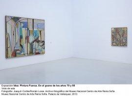 Idea: Pintura Fuerza, vista de sala / gallery view (imagen 5)