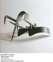 Eduardo Chillida, Plano Oscuro, 1956