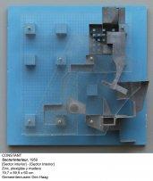 Sector interior. Zinc, plexiglas y madera, 1959