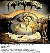 Dalí, Geopoliticus child watching the Birth of the New Man, 1943 © Salvador Dalí, Fundació Gala-Salvador Dalí, VEGAP, Madrid, 2013