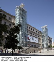 Museo Reina Sofía. Edificio Sabatini. Fachada