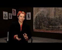 Declaraciones de la artista Elly Strik  (english)