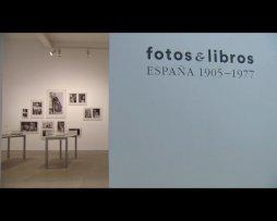Imágenes (brutos) de la exposición Fotos y libros. España 1905-1977