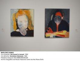 Marlene Dumas, Het kwaad is banaal, 1984 y Genetiese Heimwee, 1984