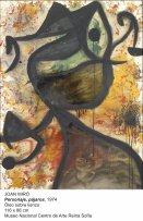 Obra presente en la exposición Miró: La experiencia de mirar en Argentina
