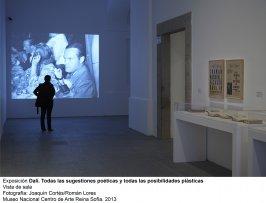 Dalí. Todas las sugestiones poéticas y todas las posibilidades plásticas, vista de sala / gallery view (imagen 1)
