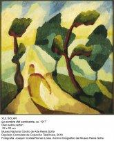 La sombra del caminante (ca. 1917). Xul Solar