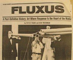 "Programa multidisciplinar ""Fluxus to the People"""