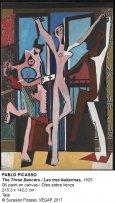 Pablo Picasso. Las tres bailarinas