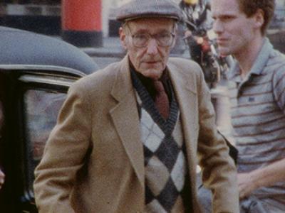 Derek Jarman. Pirate Tape: William Burroughs. Film, 1983. Courtesy of © LUMA Foundation