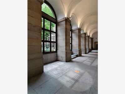 Fotomontaje para la instalación Utopía ilustrada en Planta 1, Edificio Sabatini, Museo Reina Sofía, 2021
