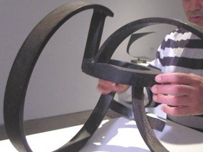 Exploración táctil en Museo a mano
