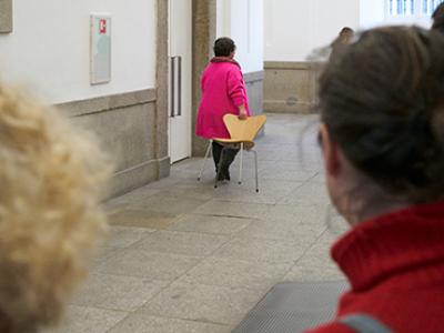 ¿Museo para tod+s? Una visita con la artista Costa Badía. Museo Reina Sofía, 2019