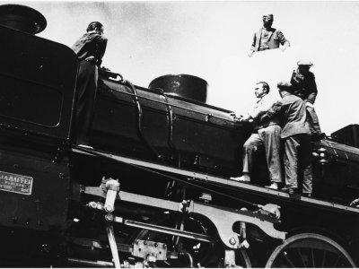 Willy Otto Zielke. Das Stahltier,1935. Copy and images courtesy of Deutsche Kinemathek, Berlin