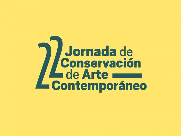 22ª Jornada de Conservación de Arte Contemporáneo