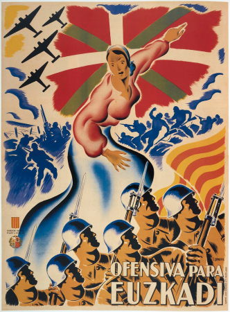Carmona, Ofensiva para Euskadi, 1937. Imagen cedida por Postermil