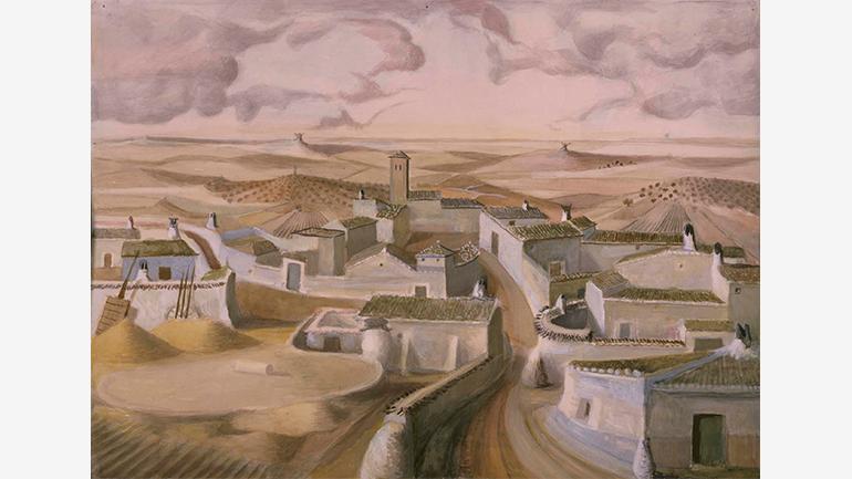 Alberto (Alberto Sánchez), El Quijote: pueblo de La Mancha, 1955