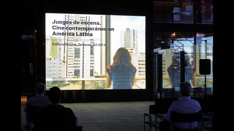 A session of Scene Games. Contemporary Cinema in Latin America