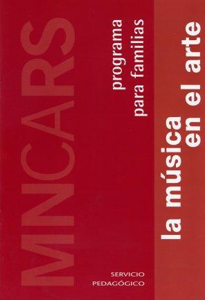 Portada de la guía para familias La música en el arte. Museo Reina Sofía, 2004.