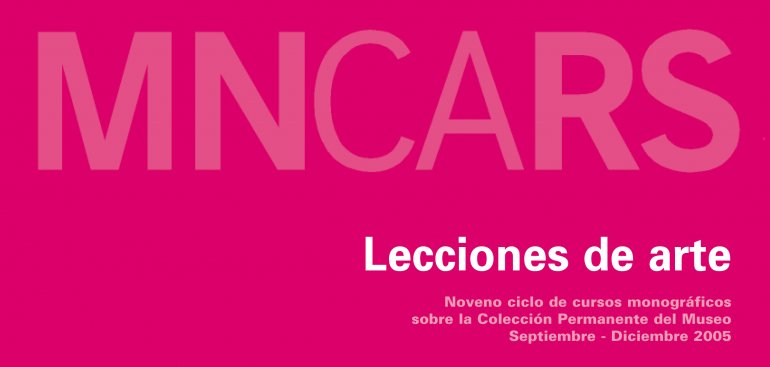Tarjetón para la difusión de la actividad. Museo Reina Sofía, 2005