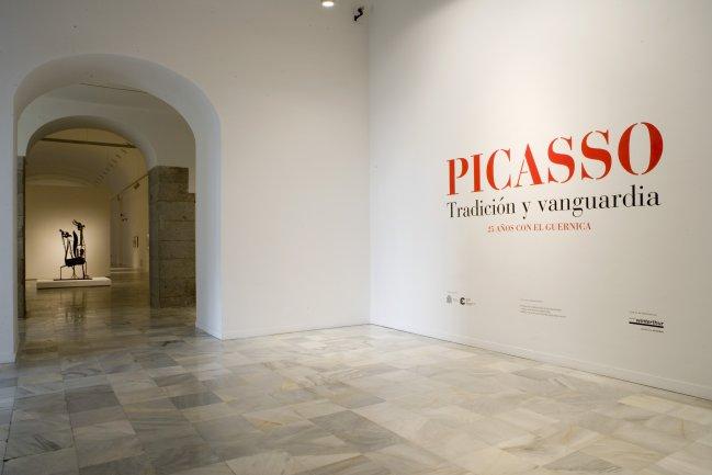 Imagen de la entrada a la exposición Picasso. Tradición y Vanguardia,