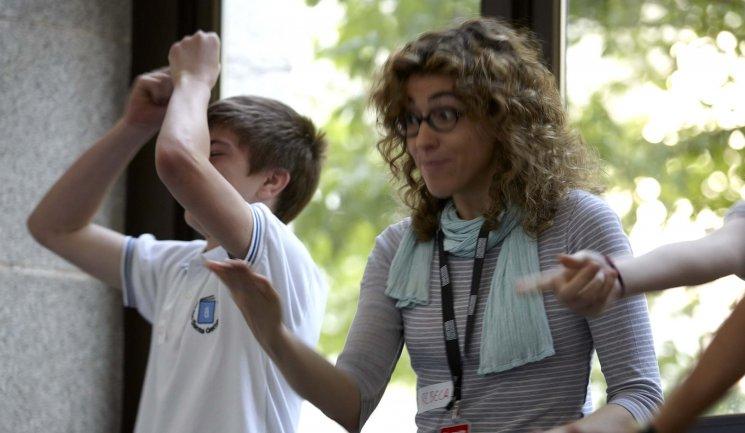 Dinámicas sobre gesto y expresión durante la visita. Museo Reina Sofía, 2010.