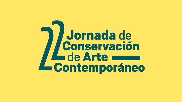 22ª Jornada de Conservación de Arte Contemporáneo, 2021