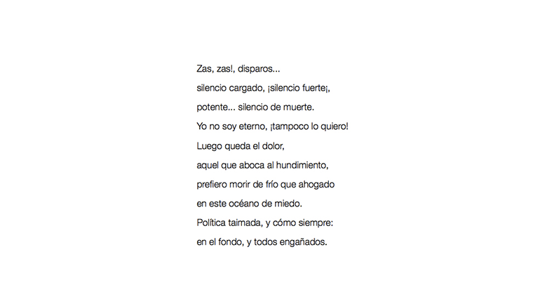 H. Marñeda, Zas, zas!, 2020