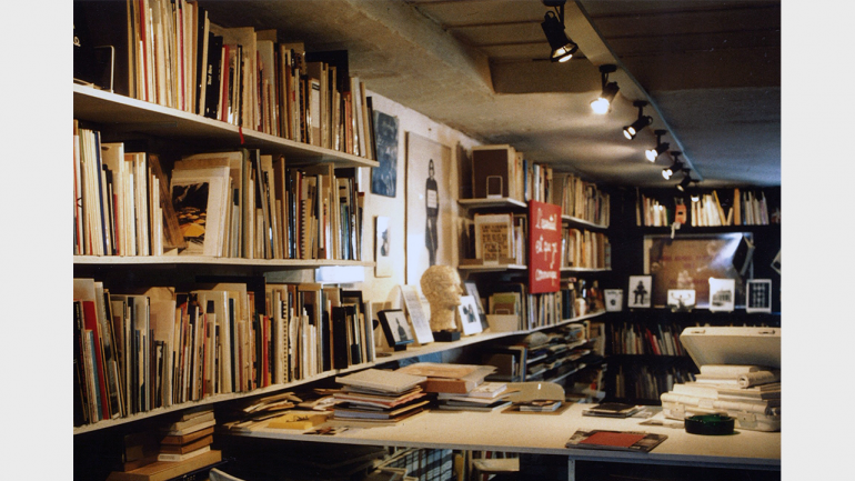 El archivo de Small Press & Communication, ca., 1989