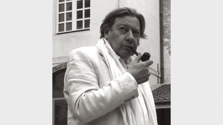 Retrato de Guy Schraenen, 2013. Fotografía: Maike Aden