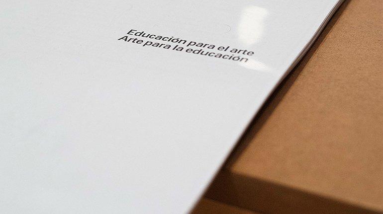 Material de trabajo del grupo Situar la mediación, Museo Reina Sofía, 2018. Foto: Alejandra Pastrana