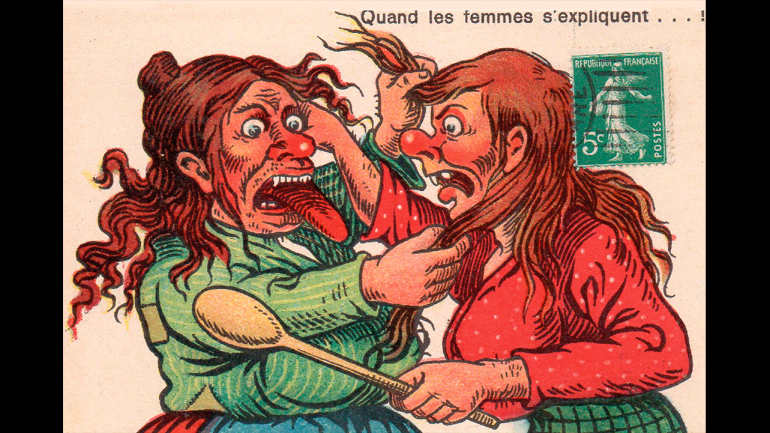 Quand les femmes s'expliquent...! [¡Cuando las mujeres se explican...!], París, s.f.
