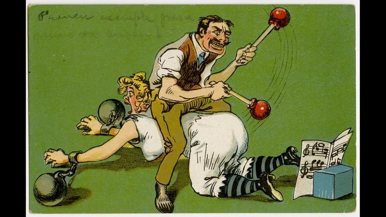 Sin título, Barcelona, 1916