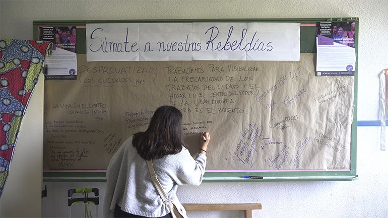Mayo Pimentel, Territorio Doméstico: Politicising Aprons, Pots and Streets. Film, 2019
