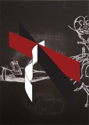 Falke Pisano. El cuerpo en crisis. Dibujo, 2012