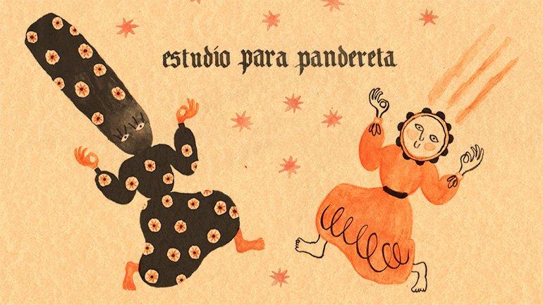 Image for Study for Tambourine © Beatriz Lobo