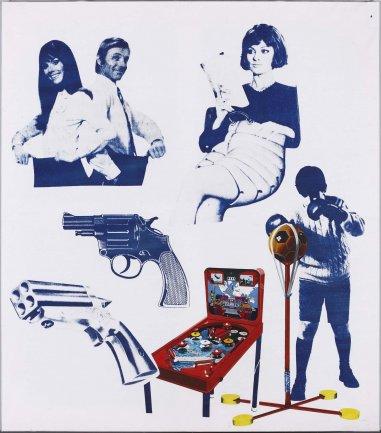 Eulàlia Grau. Temps de lleure (Etnografía), 1974. Museo Nacional Centro de Arte Reina Sofía. Depósito temporal colección de la artista, 2010