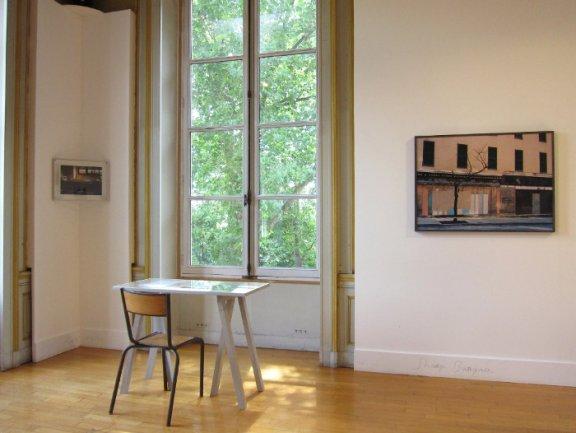 Claire Tenu. Vista de exposición. Saint-Ouen, 2011