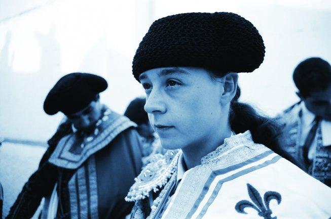 Gemma Cubero y Celeste Carrasco. Ella es el matador. DVD, 2009. © Talcual Films