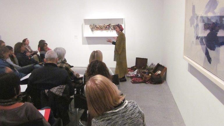 Sesión de creación literaria a partir de obras de la Colección con la cuentacuentos Ana García Castellano