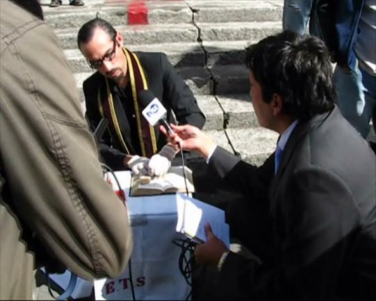 Guillermo Moscoso. Geno-Sida. Vídeo, 2009
