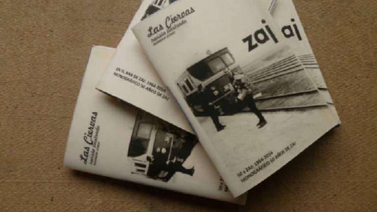 Las Ciervas revista ilustrada, Número 5 - En el Bar de ZAJ: 1964-2014. Monográfico 50 años de ZAJ. Edita Rubén Barroso