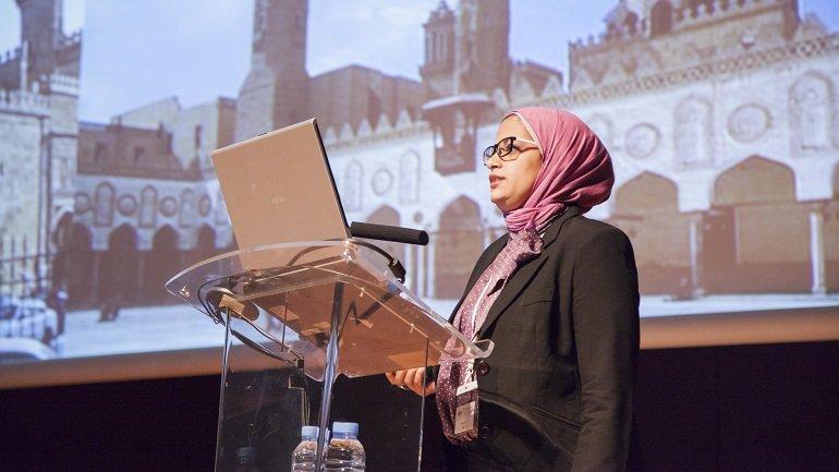 Nevin Aly presenta la evaluación del estado de una Mezquita del Cairo