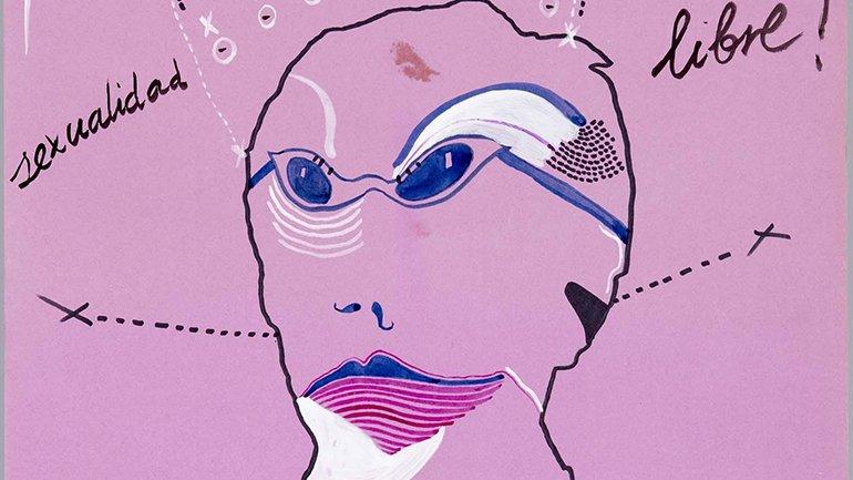 Joaquín de Molina. Por una sexualidad Libre!, 1977. Donación de Pablo Sycet, 2012