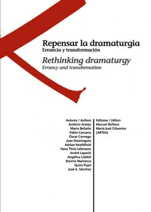 Cover of Rethinking dramaturgy